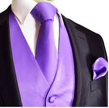 Light Purple Tuxedo Vest Black Tux With Lavender Vest And Tie This Is Exactly What I