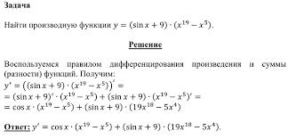 Решение примеров по математике задач по эконометрике контрольных  Производные