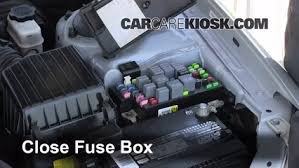 replace a fuse hyundai sonata hyundai sonata  6 replace cover secure the cover and test component