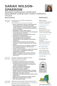 Coordinator Resume Samples Visualcv Resume Samples Database