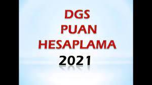 dgs puan hesaplama 2021 - YouTube