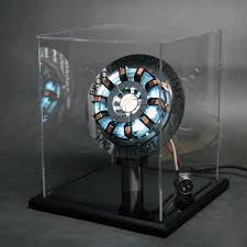 Iron Man Chest Light Diy Amazon Com 1 1 Scale Marvel Iron Man Arc Reactor Mk2 War