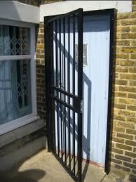 front door gateDoor Gates Metal Gates Bar Gates all from Brown Security