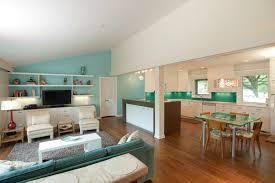 Open Plan Living Room Decorating Living Room Ideas Mid Century Modern Remodel Design Kitchen How