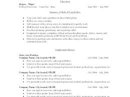 Resume Ideas For Skills Resume Resume Ideas For Computer Skills