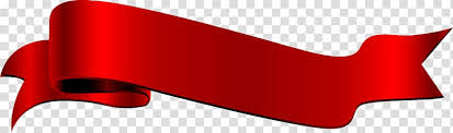 Red Ribbon Design Red Angle Font Red Ribbon Label Transparent Background Png