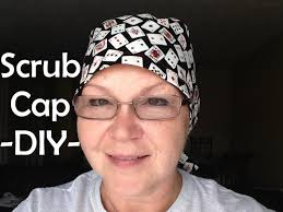 Scrub Cap Pattern Adorable Scrub Cap Printable Pattern And How To DIY Tutorial YouTube