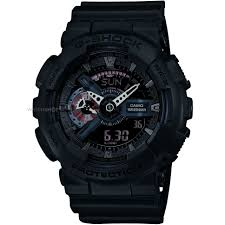 men s casio g shock military black alarm chronograph watch ga mens casio g shock military black alarm chronograph watch ga 110mb 1aer