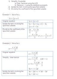 one two variables equations