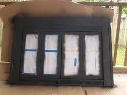 Amazoncom Pleasant Hearth FN5702 Fenwick Fireplace Glass Door Black Fireplace Doors