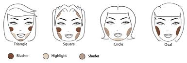 face shapes professional makeup