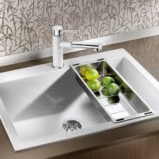 blanco pleon 8 silgranit puradur ii inset granite kitchen sink