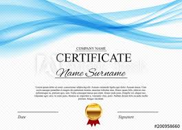 Corporate Certificate Template Magnificent Certificate Template Background Award Diploma Design Blank Vector