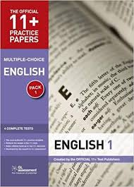 11 Practice Papers English Multiple Choice Test 1 Test