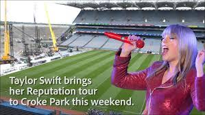 Taylor Swift Press Conference Croke Park