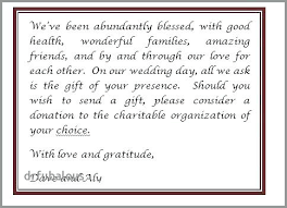 no gifts invitation wording how to ask for money a wedding invite inspirational wedding invitation wording gifts how anniversary invitation no gifts wording