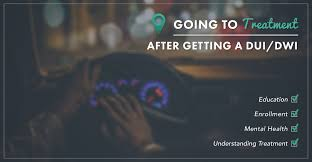 going to treatment after getting a dui dwi