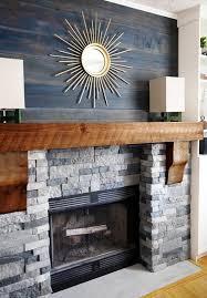 image of amazing faux stone fireplace surround kits