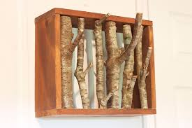 Tree Branch Coat Rack Enchanting Simple Branching Coat Rack 32 Steps With Pictures