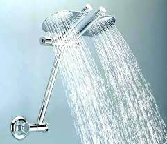 double shower head delta with handheld bathroom faucets the home depot retro fit 3 spray dual