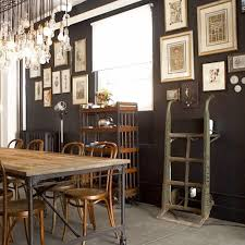 Industrial Style Dining Room Decorating Ideas The Writing On The