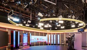 Tv Studio Lighting Design Lighting The Nos Netherlands News Studio Velvet
