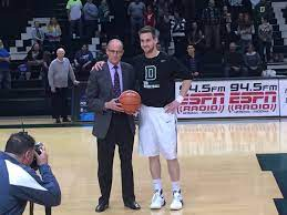 "Dartmouth M Hoops on Twitter: ""Before the game, Connor Boehm was given a  commemorative basketball in honor of him reaching 1,000 points! #DartMBK  https://t.co/hTKJ2DV0CF"""