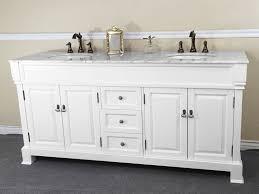 white bathroom double vanity. Beautiful White Traditional Double Vanity And White Bathroom A