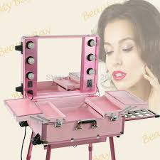 hot pink makeup case with lights aluminum makeup trolley train case in cosmetic bags cases from luge bags on aliexpress alibaba group