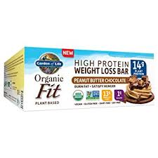 garden of life weight loss. Garden Of Life Organic Fit Bar, Peanut Butter Chocolate, 12 Count Weight Loss E