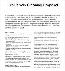Cleaning Service Agreement Template Template Business Proposal ...