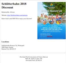2018 printable schlitterbahn s and tickets kansas city waterpark