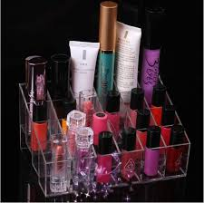Lipstick Display Stands Best Cosmetic Display Makeup Stand Transparent Lipstick Jewelry 21