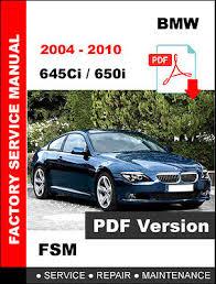 bmw e63 e64 2004 2010 645ci 650i service repair shop manual bmw 2004 2010 e63 e64 645ci 650i service repair fsm manual wiring diagram
