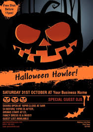 Fancy Flyers Halloween Design Templates For Flyers And Leaflets Live On