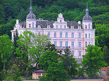 the grand budapest hotel  palace bristol hotel in karlovy vary carlsbad