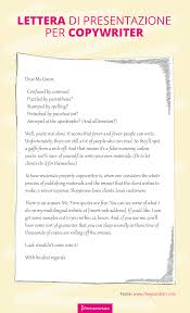 Lettera Di Presentazione Lettera Di Presentazione Per Copy Una Storia Tanti Esempi