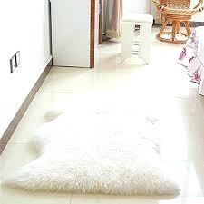 ikea faux fur rug faux fur rug soft sheepskin mat carpet pad anti slip chair sofa