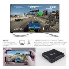 X96 MAX Plus 4GB 64GB Android 9,0 Smart TV Box Amlogic S905X3 Quad Core  Dual Wifi BT H.265 8K Youtube X96Max Plus Set top box|Set-top Boxes
