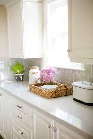 Kitchen Countertop Storage Kitchen Remodel Quartz Countertops Interior Design Gray
