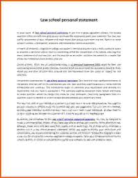Sample Law School Personal Statement      Examples in PDF