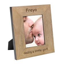 daddy s little girl wooden photo frame 1