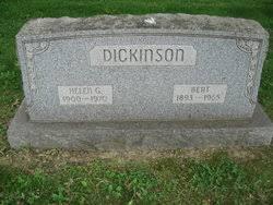 Bert Dickinson (1893-1965) - Find A Grave Memorial