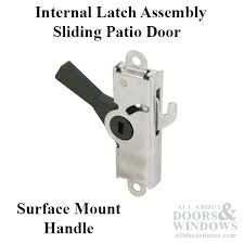 mortise sliding door handle rite internal latch assembly surface mount handle sliding patio door latch assembly