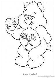 Small Picture Get This Easy Preschool Printable of Care Bear Coloring Pages qov5f