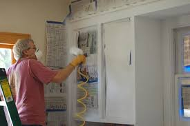 how to repaint kitchen cabinet doors