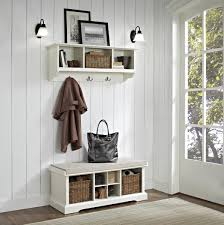 entryway systems furniture. entryway systems furniture crosley brennan piece bench shelf white beyond stores