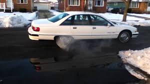 91 Chevy Caprice Classic Quick Burnout - YouTube