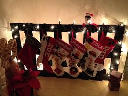 pallet painting ideas christmas. christmas stocking holder made from pallet. painted with chalkboard paint. pallet painting ideas r