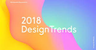 Graphic Design Trends 2018 2018 Design Trends On Behance